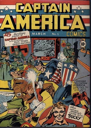 Jack Kirby and Hitler's feet