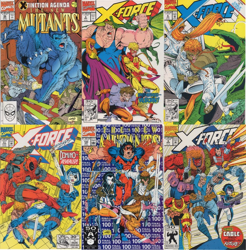 Rob Liefeld Feet Covers