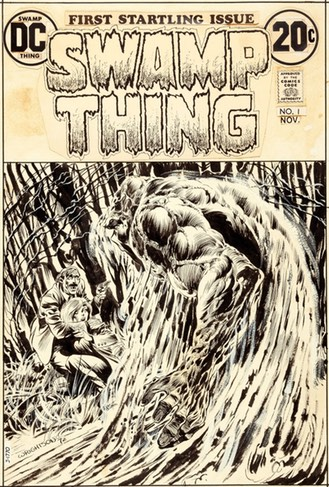 Wrightson Swamp Thing Cover