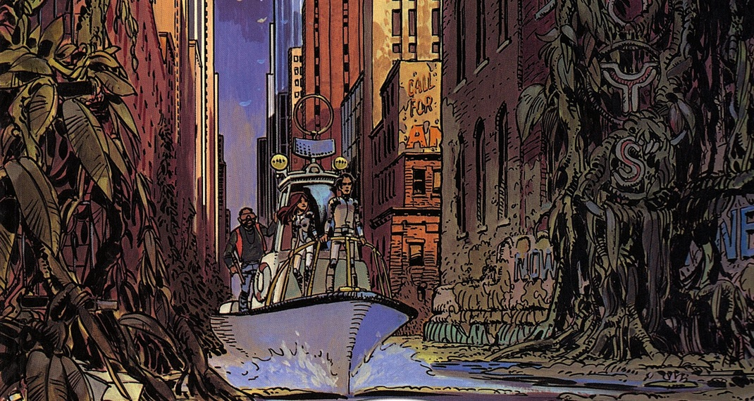 Valerian and Laureline v1 The City of Shifting Waters cover header