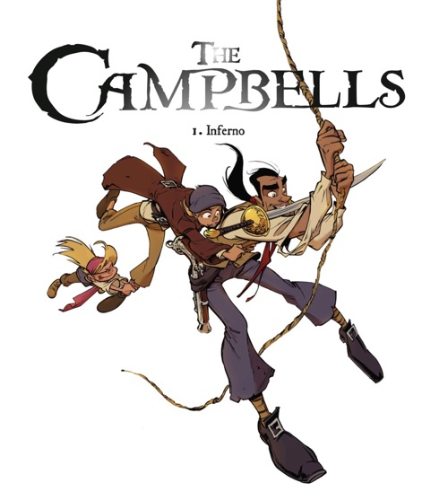 The Campbells title page