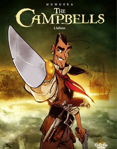 The Campbells v1 cover