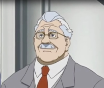 Mr. Albert is a dead ringer for Meziere's version of the character in the Time Jam anime