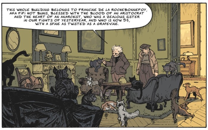 Lupano's dialogue shines in this panels