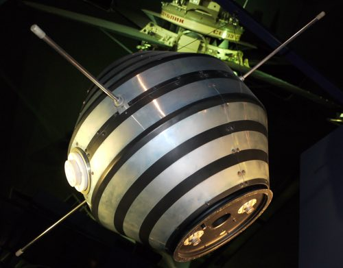 The French satellite, Asterix