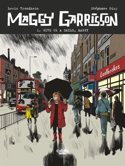 Maggy Garrisson cover by Stephane Oiry
