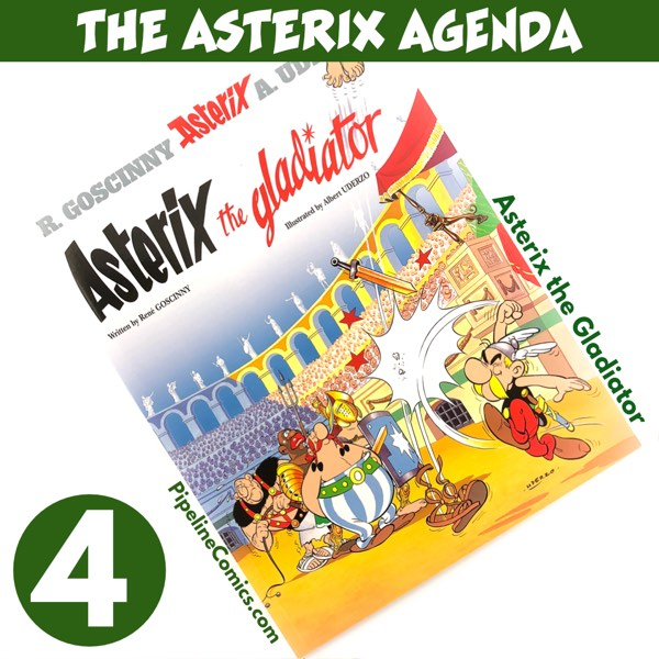 Asterix the Gladiator cover