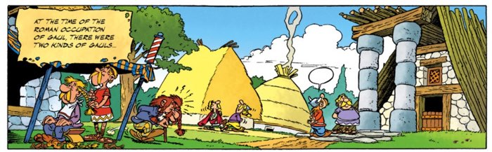 """What happens when good Gauls turn into Wannabe Romans? Asterix v7 """"Asterix and the Big Fight"""" has the answers!"""
