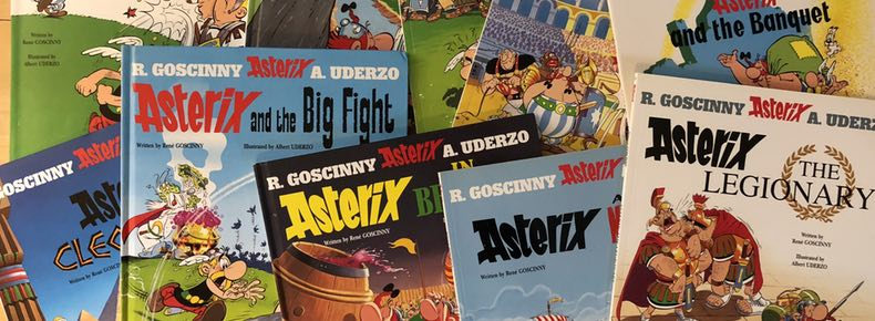 The first ten books of Asterix