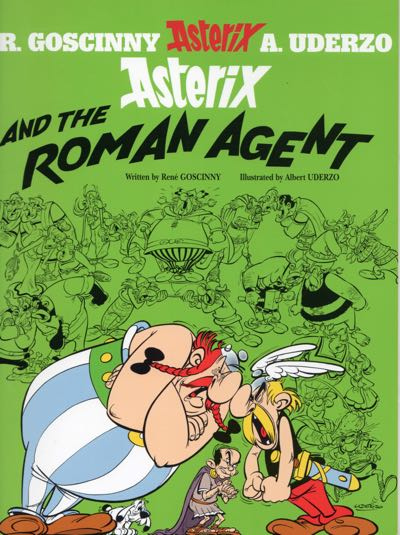 Asterix and the Roman Agent cover