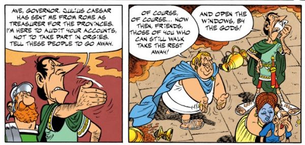 When Caesar audits you, there might be trouble.