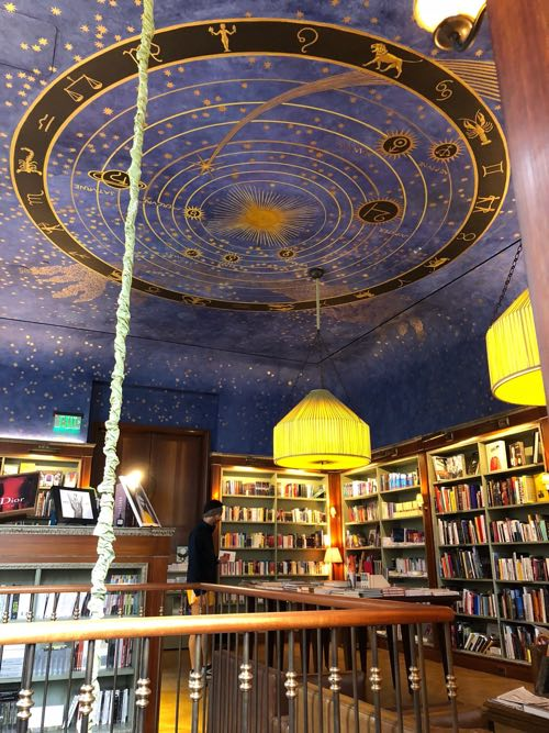 The ceiling of the Albertine