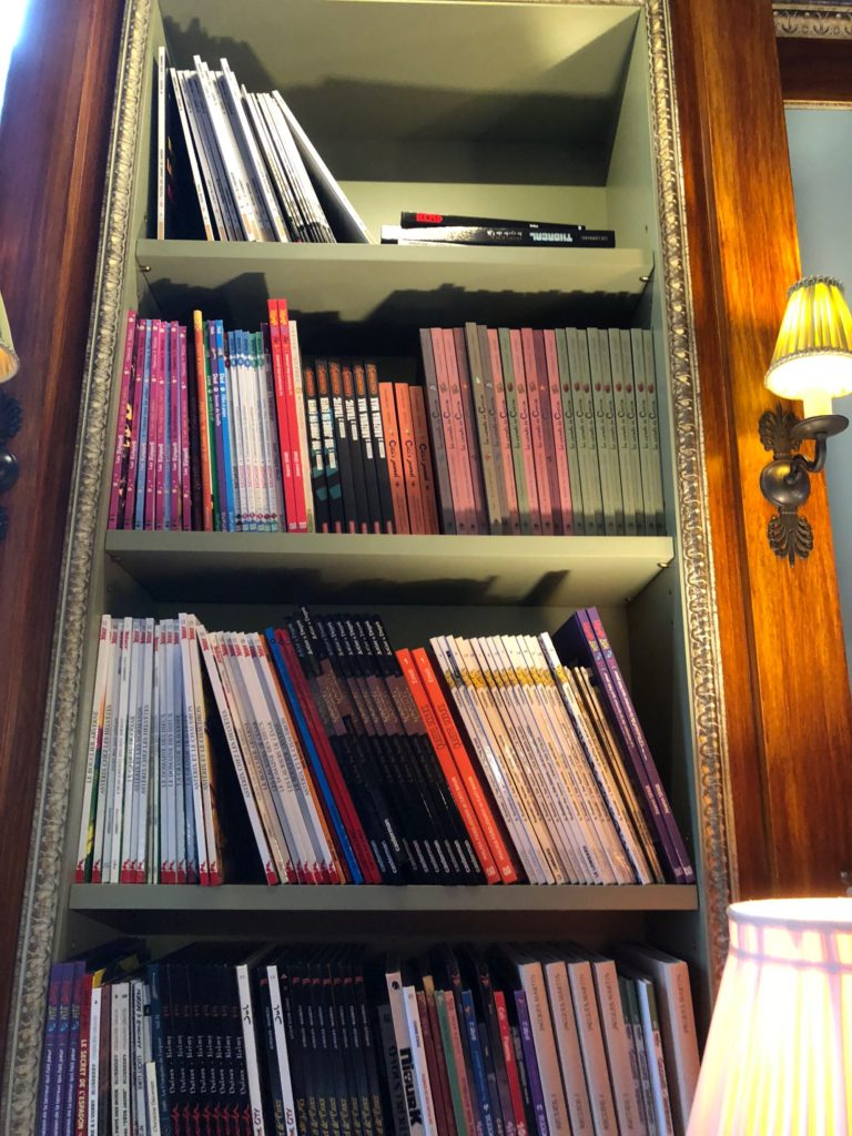 The Albertine right side bookcase, full size image at 2000px wide