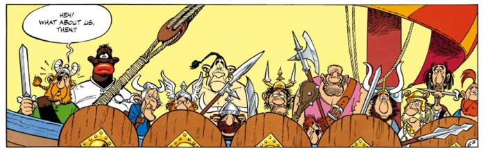 """The pirates of """"Asterix"""""""
