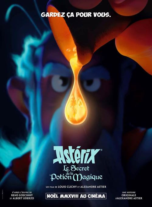 Asterix and the Secret of the Magic Potion movie poster 2018