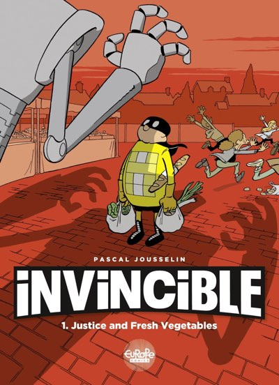 Invincible volume 1 cover from Pascal Jousselin