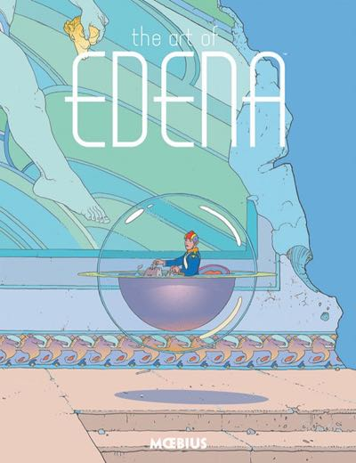 The Art of Edena cover by Moebius, published by Dark Horse
