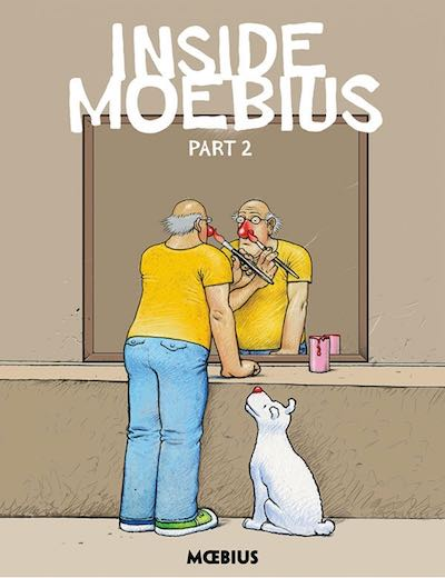 Inside Moebius v2 cover by Jean 'Moebius' Giraud, published by Dark Horse