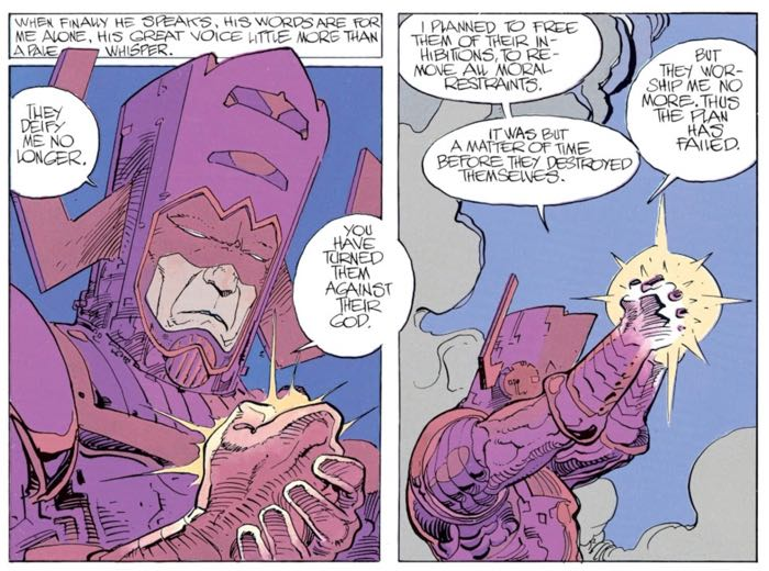 Galactus realizes the jig is up