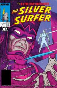 Silver Surfer: Parable #1 cover by Jean Moebius Giraud