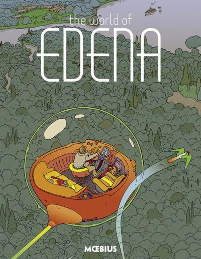 The World of Edena cover by Moebius, published by Dark Horse