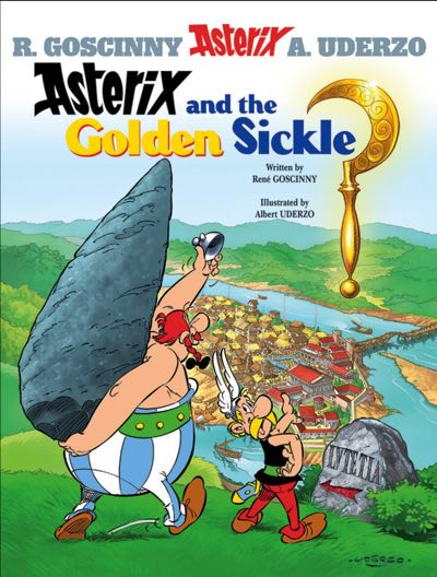Asterix v2 Asterix and the Golden Sickle cover by Albert Uderzo