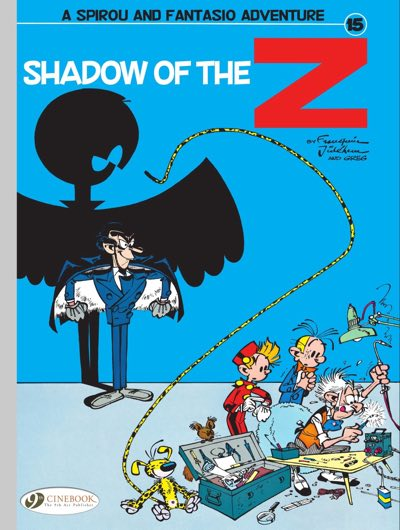 Spirou And Fantasio V15 Shadow Of The Z Pipeline Comics