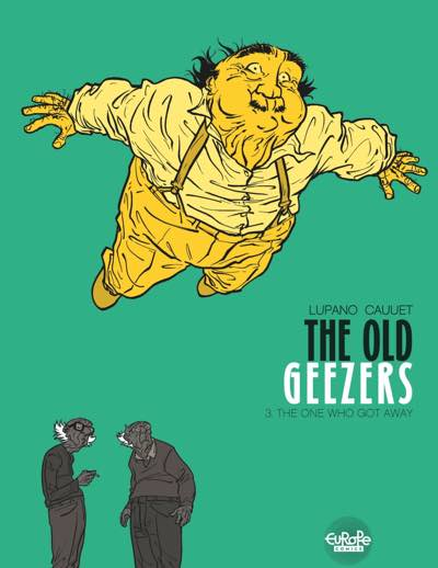 The Old Geezers v3 cover by Paul Cauuet