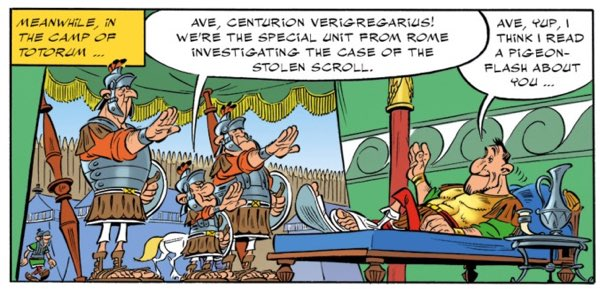 Roman Centurion Verigregarius from Asterix and the Missing Scroll