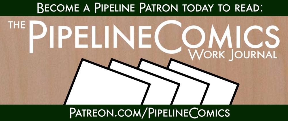 Pipeline Work Journal Patreon Banner