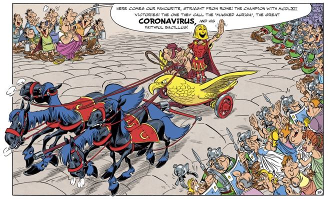 Coronavirus is introduced to the chariot races...