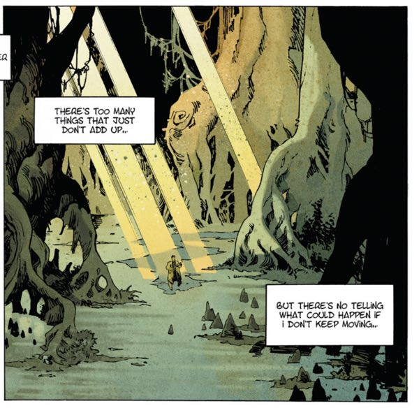 """Jack Stanton stands alone in the world, in """"The Book of Chaos"""" v1 by Matthieu Lauffray"""