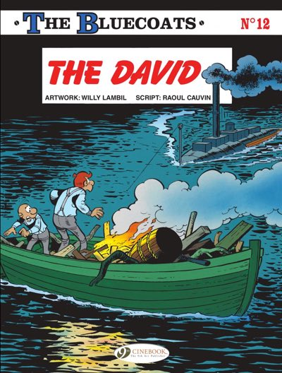 """The Bluecoats v12 """"The David"""" cover by Willy Lambil"""