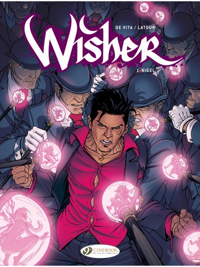 Wisher v1 cover from Cinebook