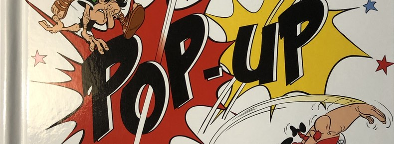 Asterix on the Warpath cover detail