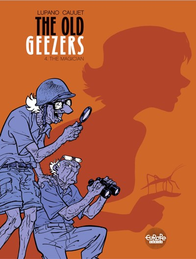 The Old Geezers v4 cover by Paul Cauuet