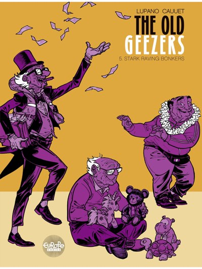 The Old Geezers v5 by Will Lupano and Paul Cauuet