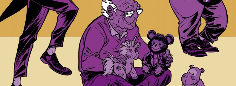 The Old Geezers v5 cover detail by Will Lupano and Paul Cauuet