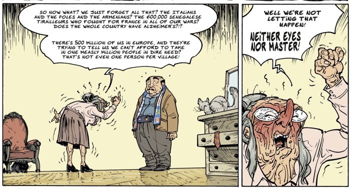 The politics gets personal in The Old Geezers v5