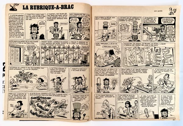 Sample pages from Rubrique-a-brac by Gotlib in Pilote Journal