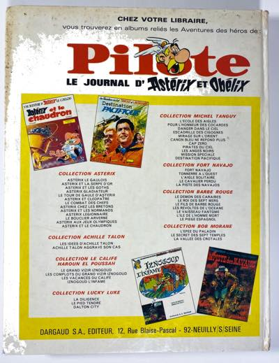 Pilote Journal v43 collected HC back cover