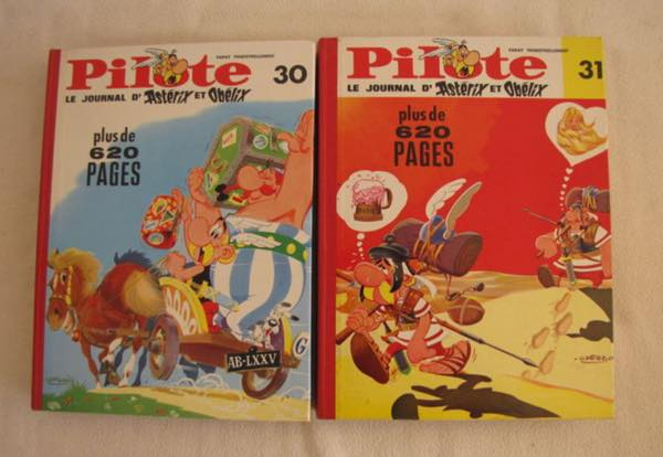 The Belgian edition of Pilote Journal HC
