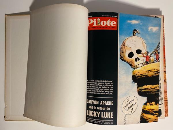 Pilote HC #53 inside front cover