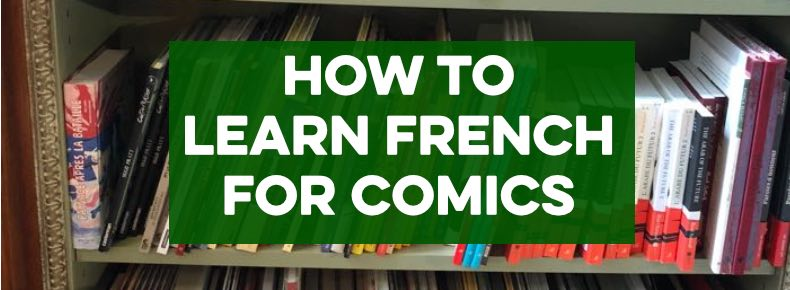 How to learn French for comics header