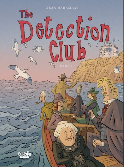 Cover to The Detection Club v1 by Jean Harambat