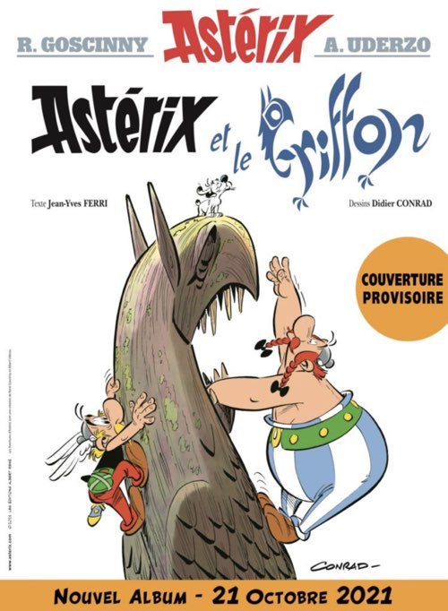 Asterix and the Griffin provisional cover