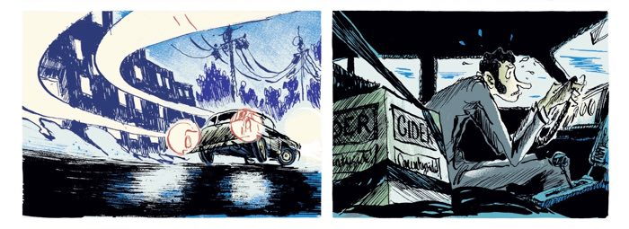 Pierre-Henry Gomont's storytelling and composition brilliance are on display in this sequence from Brain Dead v1.