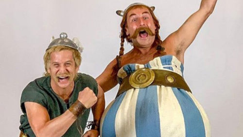 Asterix and Obelix go to China for the next live action movie