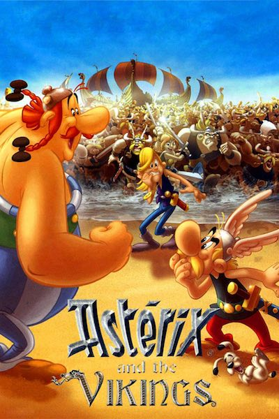 Asterix and the Vikings movie poster