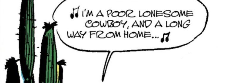 """Where Did Lucky Luke's """"Poor Lonesome Cowboy"""" Song Come From? Origins and History"""